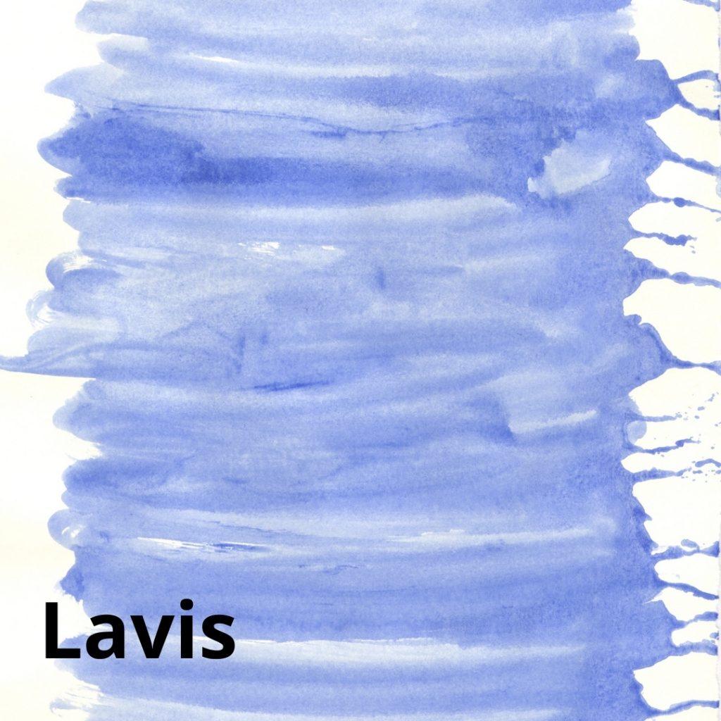 Lavis en peinture acrylique