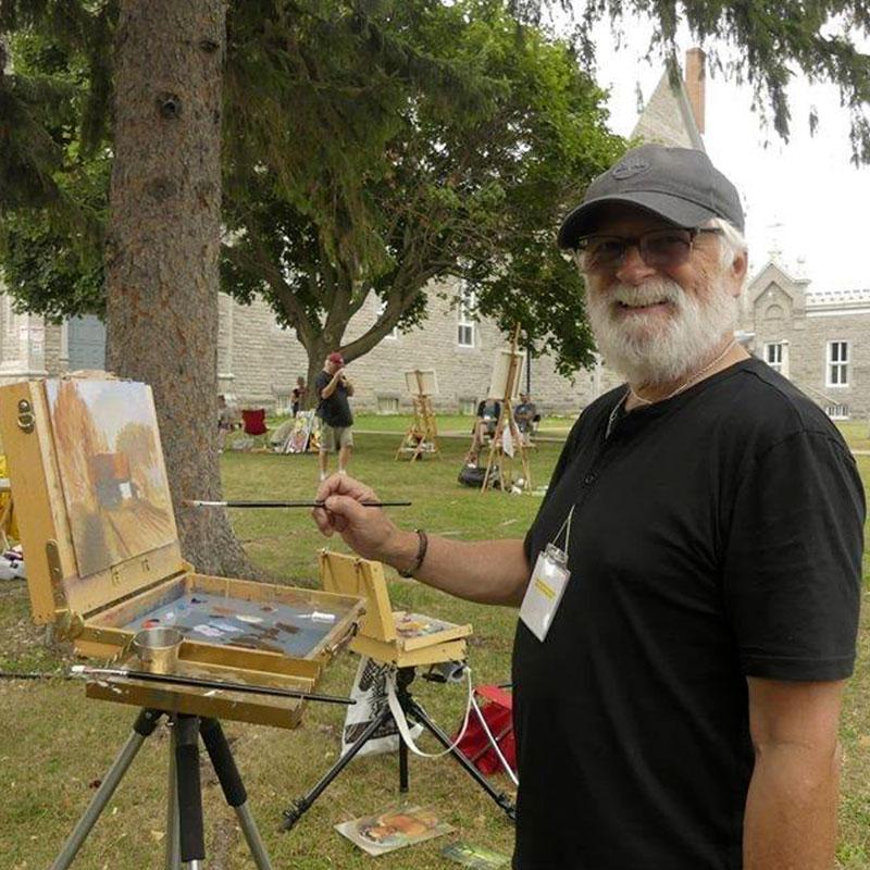 Cours de peinture à l'huile en ligne avec Yves La Rocque
