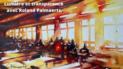 Cours d'arts en ligne Roland Palmaerts Lumiere et transparence