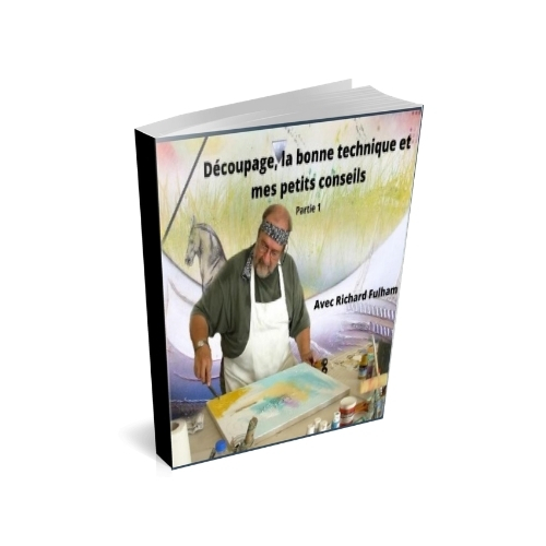 Cours d'arts en ligne Richard Fulham Le découpage en PDF
