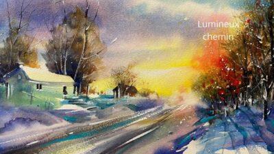 Cours d'arts en ligne Roland Palmaerts Lumineux chemin