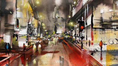 Cours d'arts en ligne Roland Palmaerts Ville