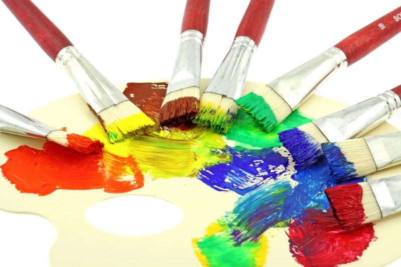 Cours d'arts en ligne Stéphane Gagnon Palette de couleurs et application