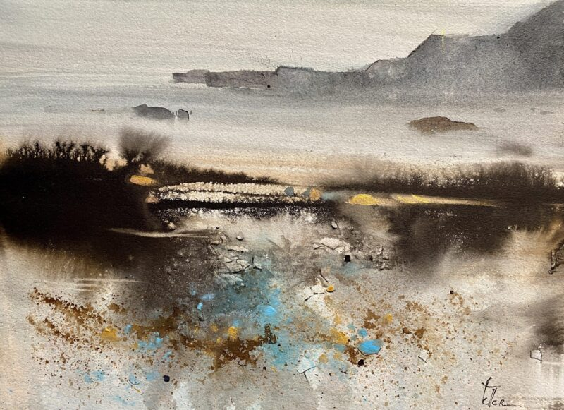 Cours d'arts en ligne Odette Feller Au-delà des textures