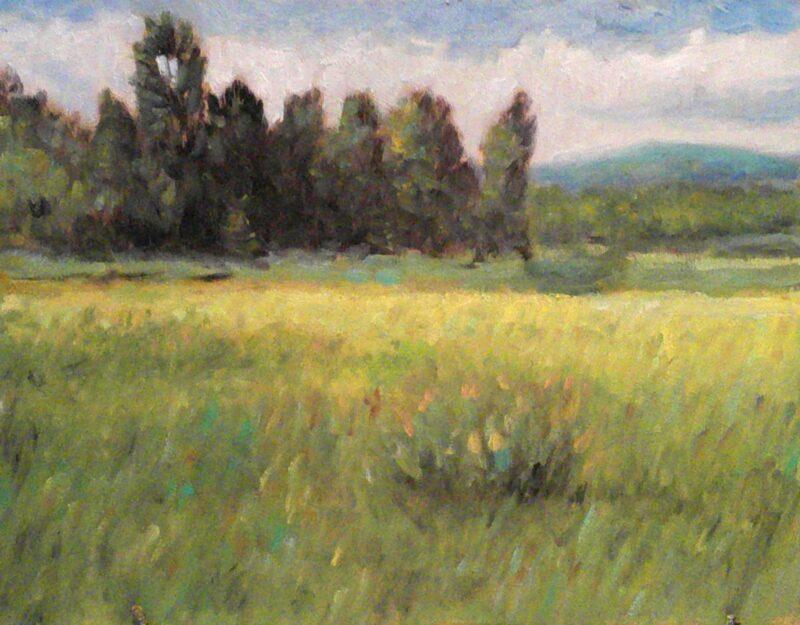 Cours d'arts en ligne Stéphane Gagnon Paysage d'été