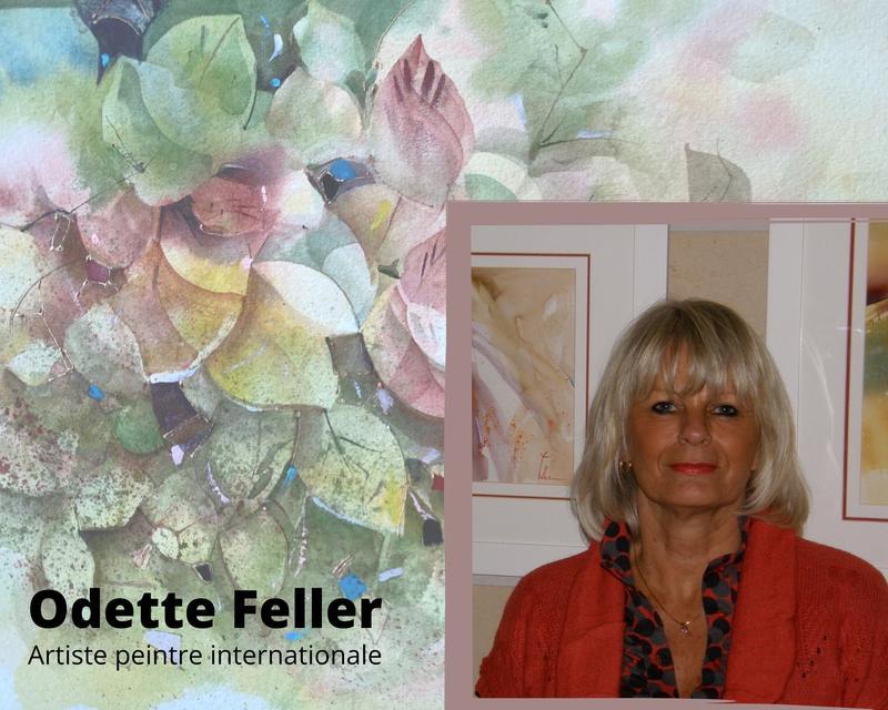 Cours d'aquarelle et d'acrylique en ligne avec Johanne Doucet