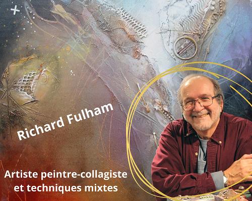 Cours de collage en ligne avec Richard Fulham