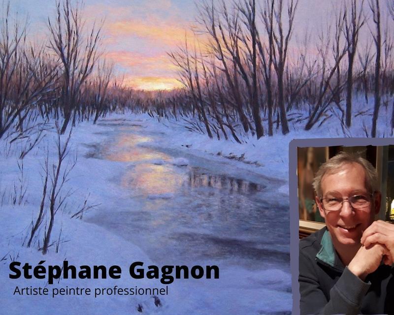 Cours de peinture à l'huile en ligne avec Stéphane Gagnon