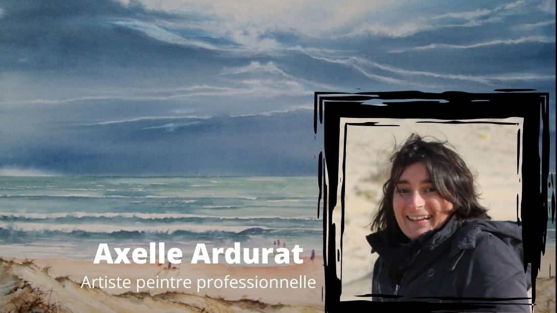 Cours d'aquarelle en ligne avec Axelle Ardurat