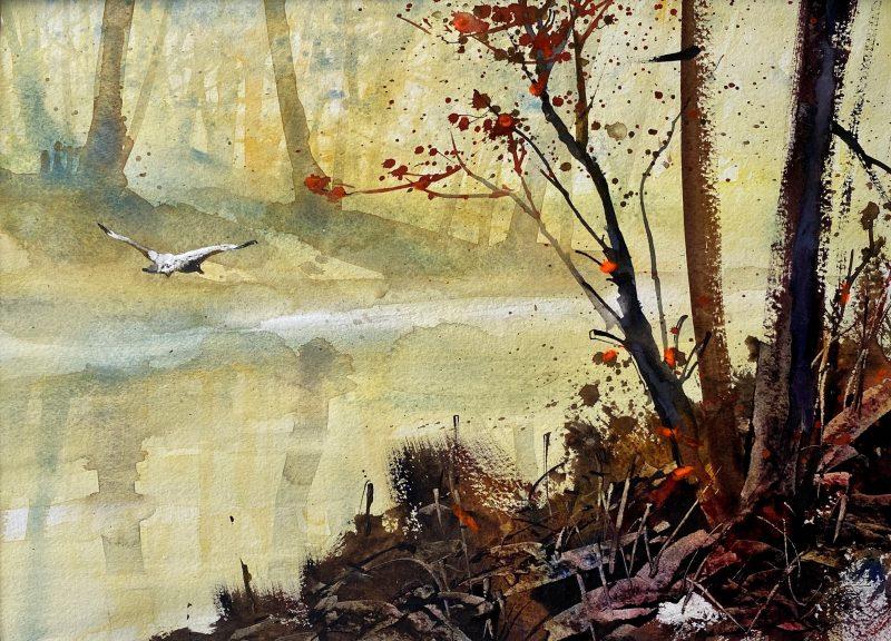 Cours d'arts en ligne Roland Palmaerts Au fil de l'eau