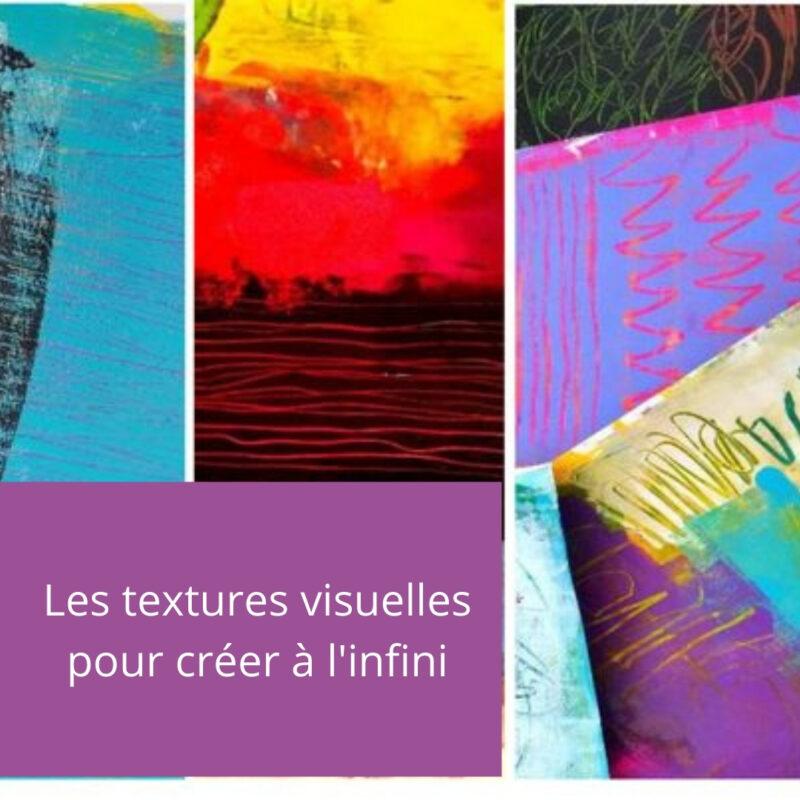 Cours d'arts en ligne Mimi Vézina Textures visuelles