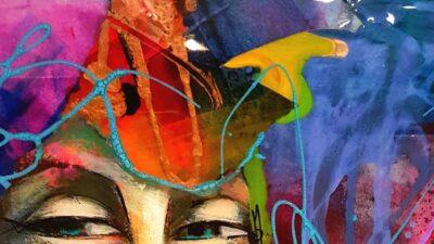 Cours d'arts en ligne Mimi Vézina Abstraction et composition