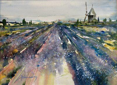 Cours d'arts en ligne Roland Palmaerts Lavande